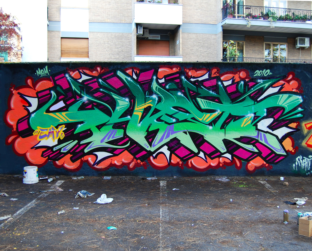 Буквы граффити вайлд