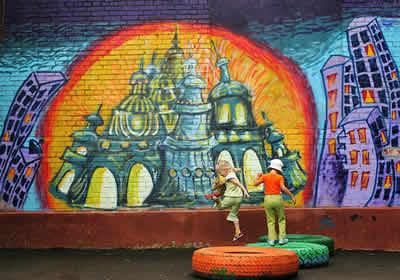 Картину граффитиста видят все люди