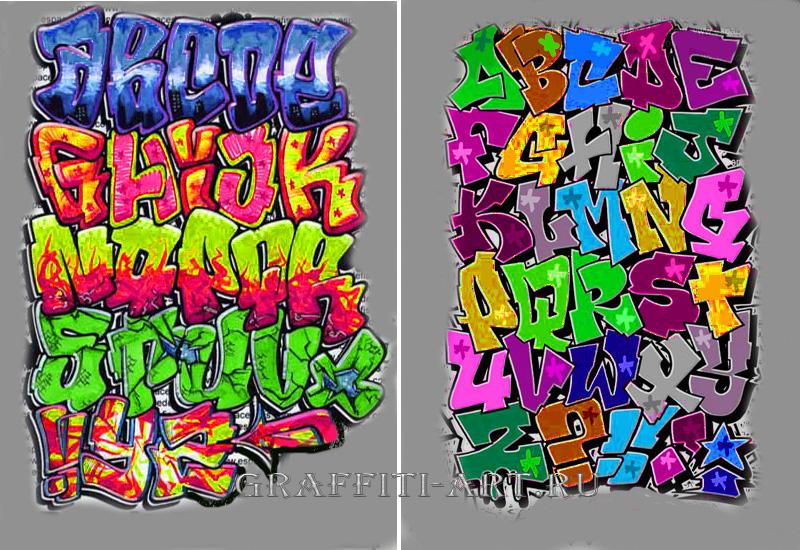 Граффити карандашом граффити