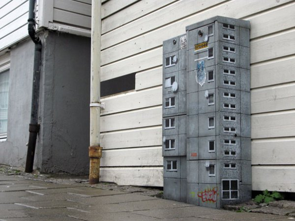 граффити EVOL