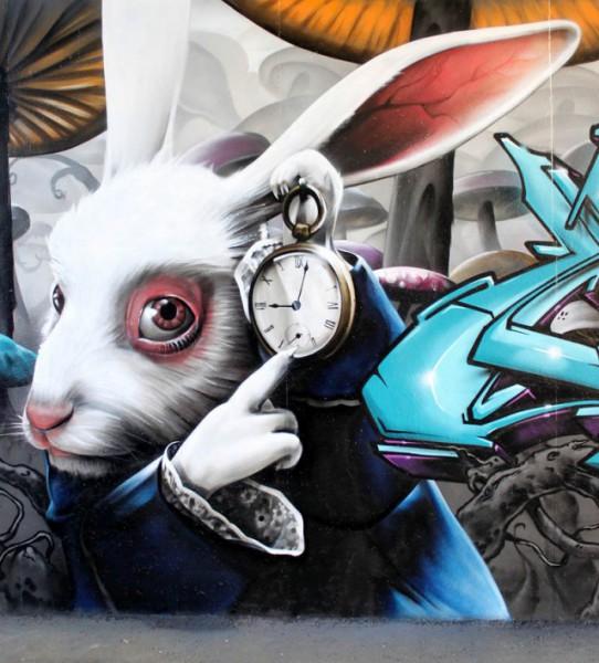 граффити Smug One
