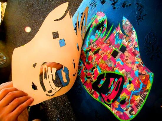 Граффити стенсил-арт