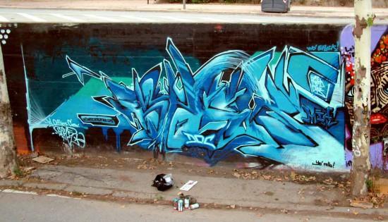 граффити барселона